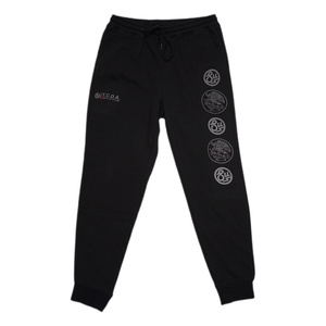 Swimbait Underground X Trophy Coat of Arms Sweat Pant - Black