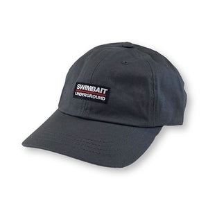 Swimbait Underground Dad Hat - Dark Charcoal