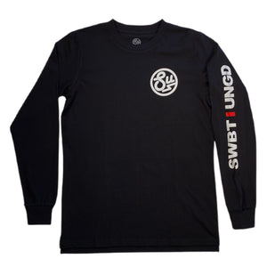 Swimbait Underground Circle SU Long Sleeve Tee - Black