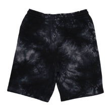 Load image into Gallery viewer, Swimbait Underground X Trophy Coat of Arms Sweat Short - Black Tie Dye