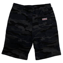 Load image into Gallery viewer, Swimbait Underground Initials Sweat Shorts - Black Camo