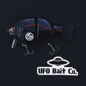 "Swimbait Underground x UFO Bait Co ""Dark Side"" Billed Wake - Swimbait Underground"