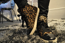Load image into Gallery viewer, BASKETS MONTANTES LEOPARD LANVIN
