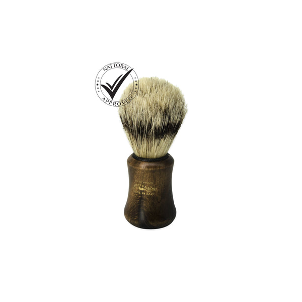 Shaving Brush Wood Handle - Natural Bristle