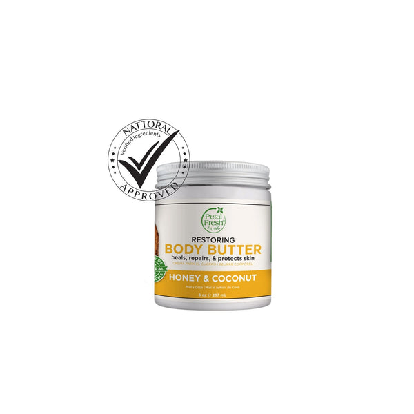 Honey & Coconut Oil Body Butter- Restoring