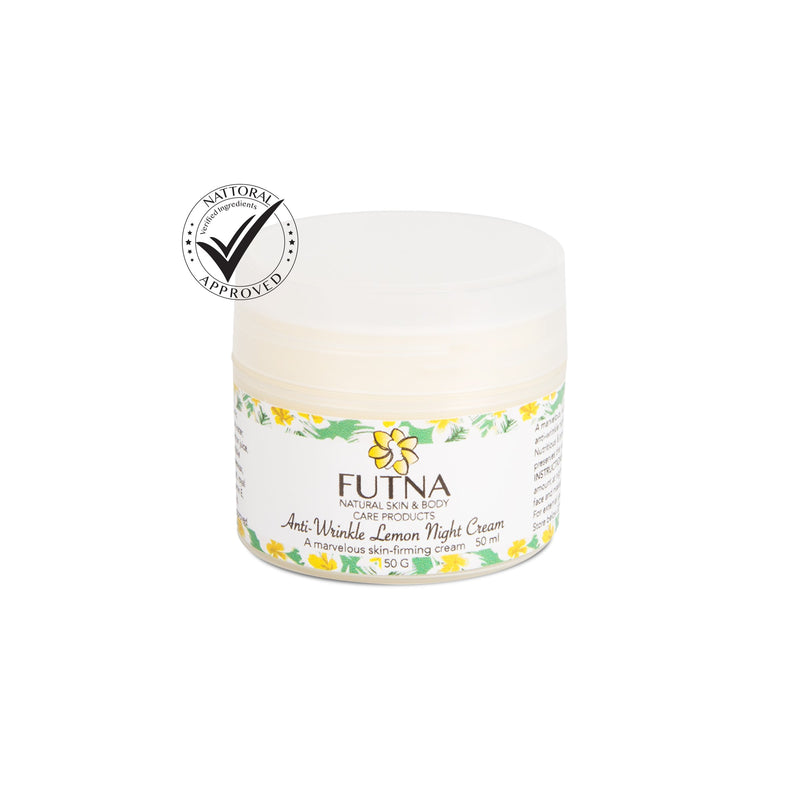 Futna Anti-Wrinkle Lemon Cream  odorganic.myshopify.com (5386079010979)