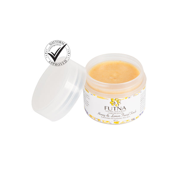 Futna Honey & Lemon Facial Scrub  odorganic.myshopify.com (5386149953699)