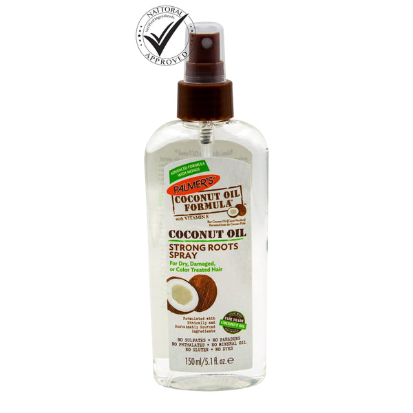 Coconut Oil Strong Roots Spray  odorganic.myshopify.com (5309167861923)