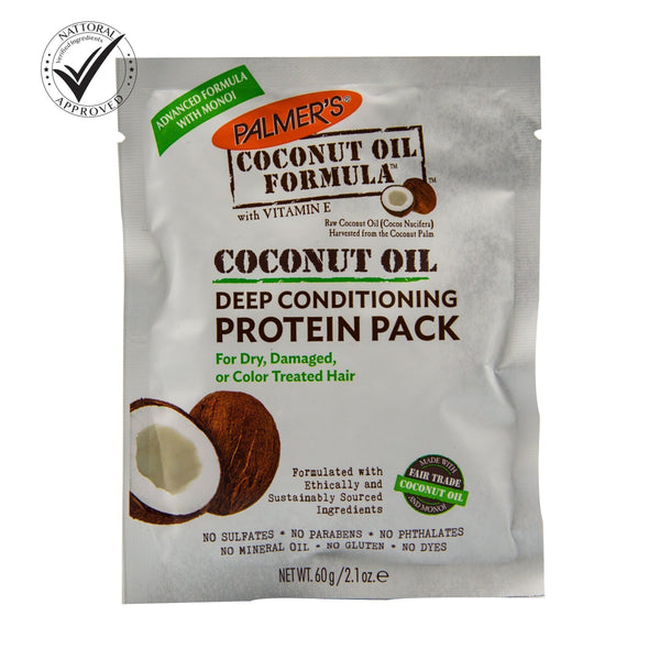 Coconut Oil Deep Conditioning Protein Pack  odorganic.myshopify.com (5373915234467)