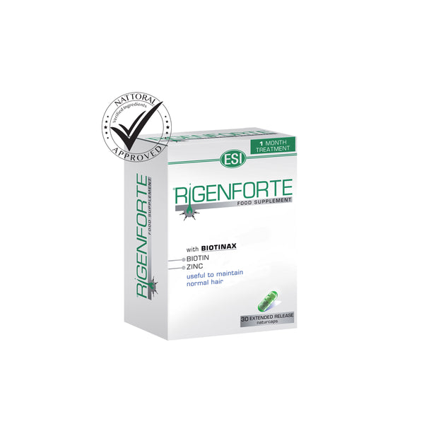 Rigenforte dietary supplement for healthy hair