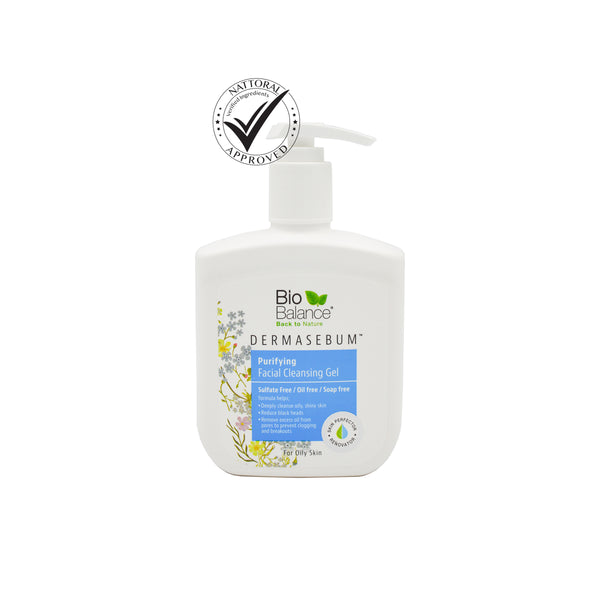 DERMASEBUM PURIFYING FACIAL CLEANSING GEL  odorganic.myshopify.com (5561701728419)