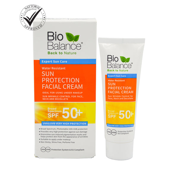 SUN PROTECTION Facial CREAM - SPF 50+  odorganic.myshopify.com (5579451269283)