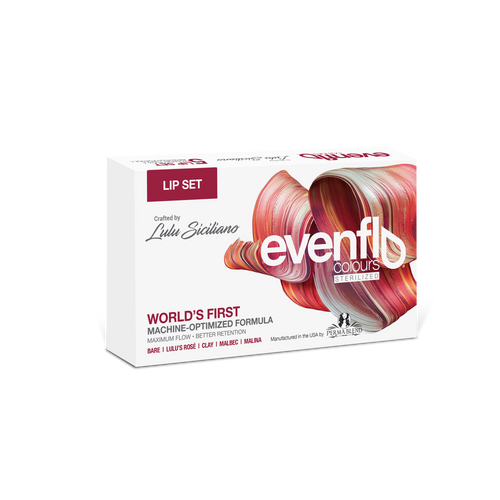 EvenFlo lip pigments by Lulu Siciliano