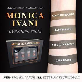 Monica Ivani pigments by Li