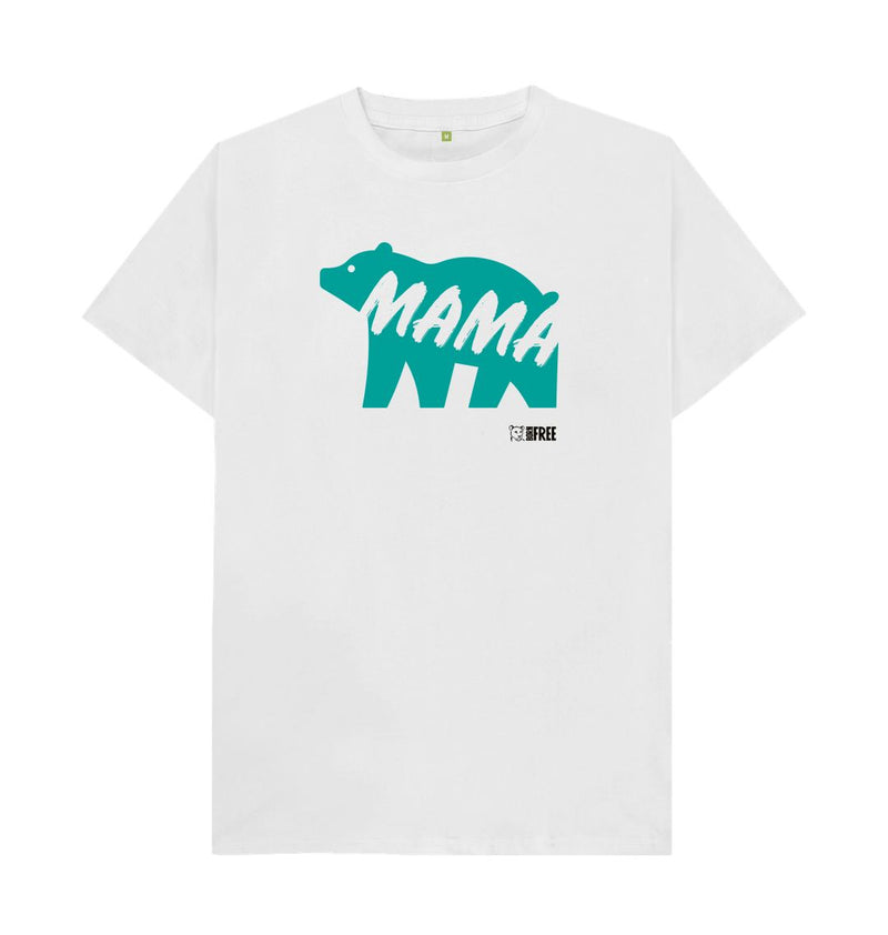 White 'Mama Bear' t-shirt