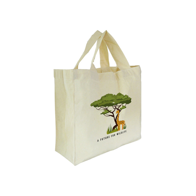 'A Future for Wildlife' mini tote bag – Giraffe
