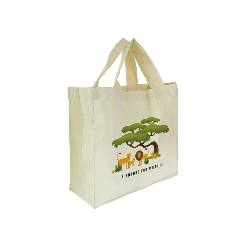 'A Future for Wildlife' mini tote bag – Lion family