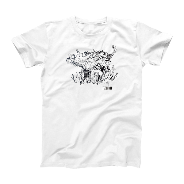 Children's Warthog t-shirt by Quentin Blake