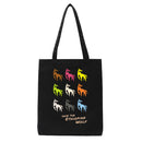Save the Ethiopian Wolf tote bag
