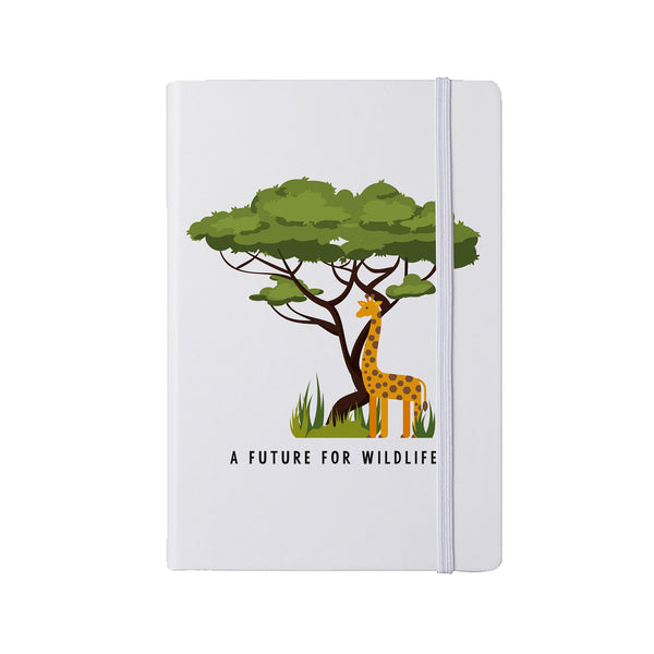 'A Future for Wildlife' A5 notebook – Giraffe