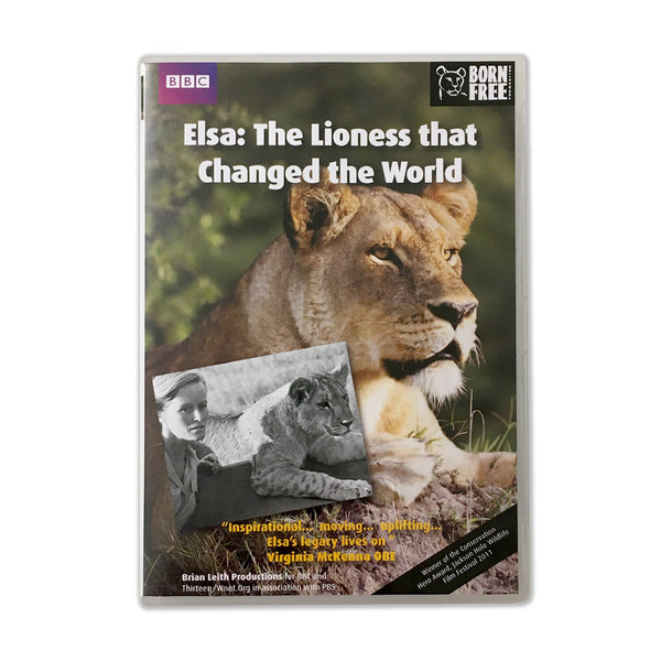 DVD – Elsa: The Lioness that Changed the World