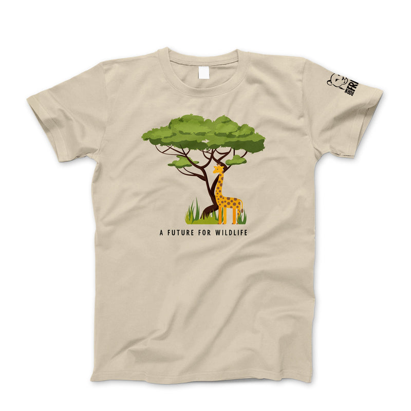 Children's 'A Future for Wildlife' t-shirt – Giraffe