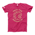 'Save the pangolin' t-shirt