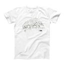 Pangolin t-shirt by Quentin Blake