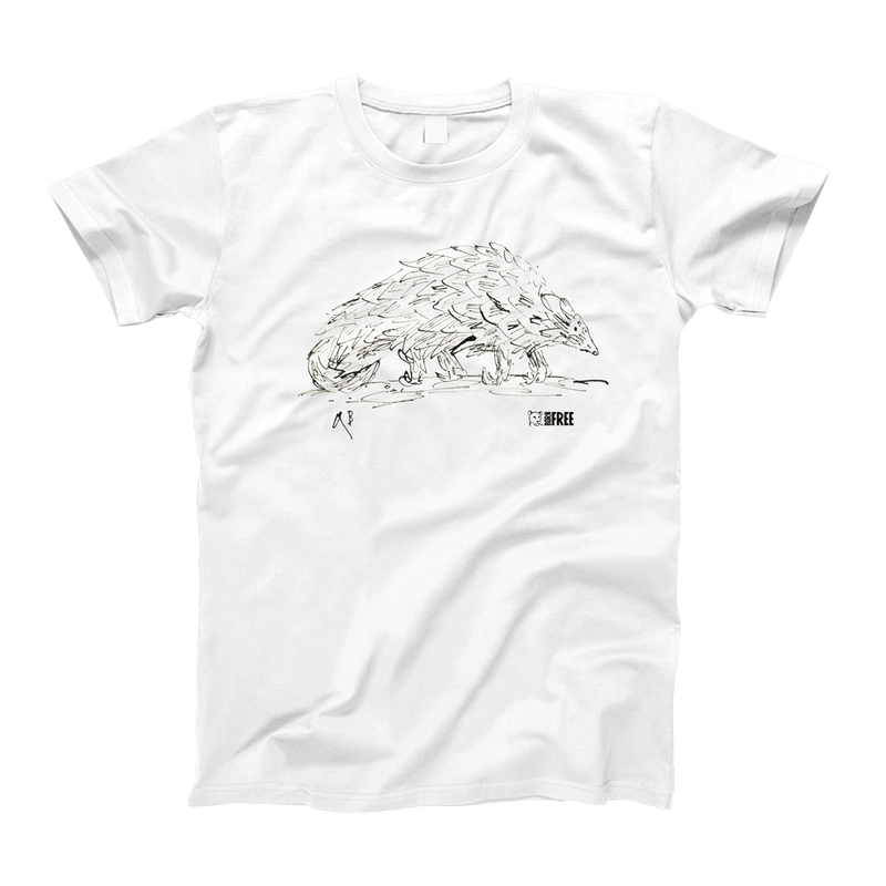 Children's Pangolin t-shirt by Quentin Blake