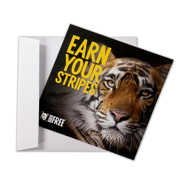 'Virtual gift' card – Earn your stripes