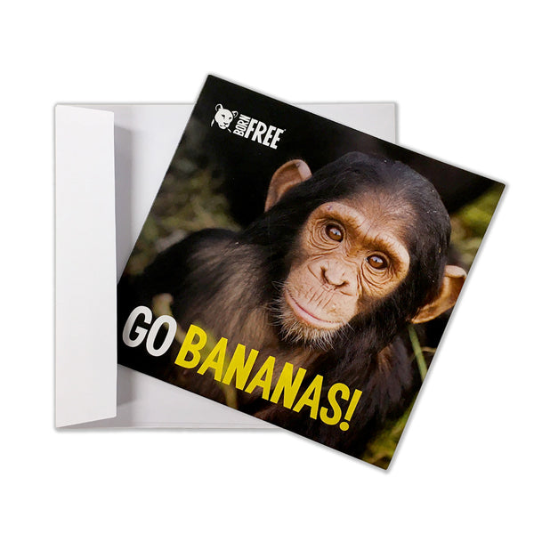 'Virtual gift' card – Go bananas!