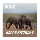 'Virtual gift' card –  Happy Birthday