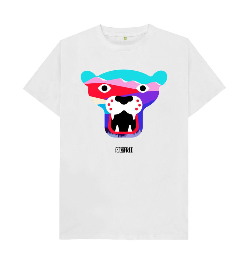 White 'Tiger' t-shirt