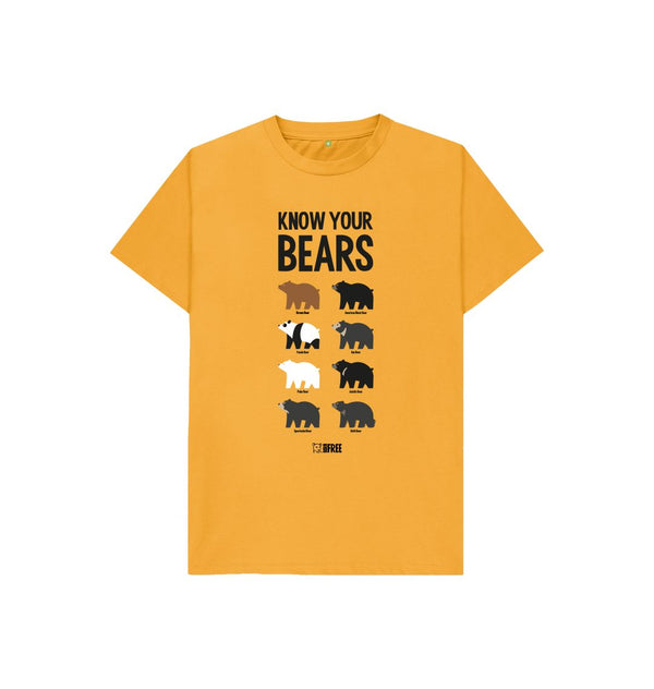 Mustard Know Your Bears - kids t-shirt