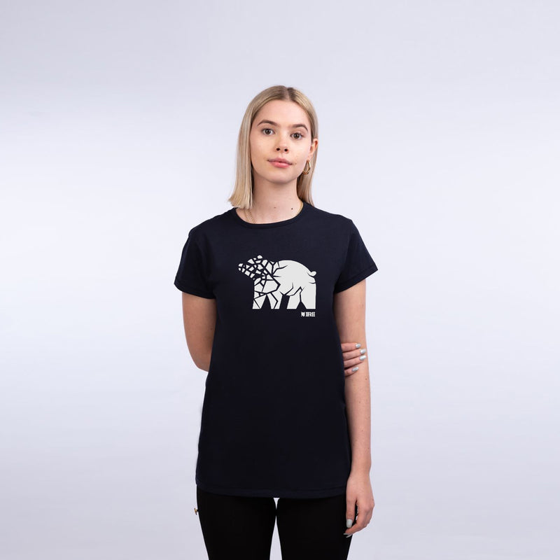'Broken Ice'  Women's fit t-shirt - Save the bears