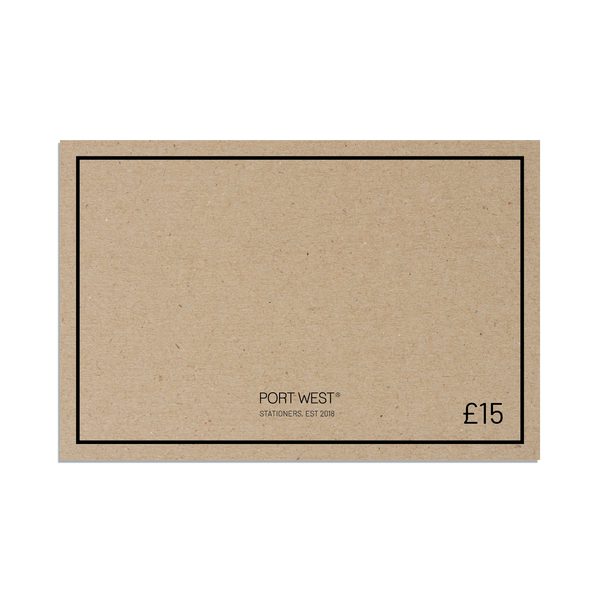 Gift Card - £15