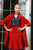 WWS Danielle D. Rollins Wallis Opera Coat in Red Sateen