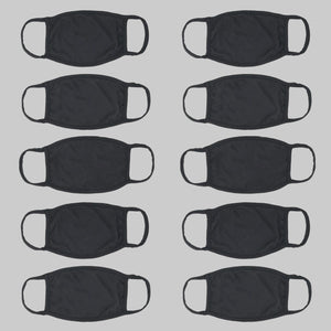 Classic Black Protective Mask (Pack of Ten) - HIJIBIZI