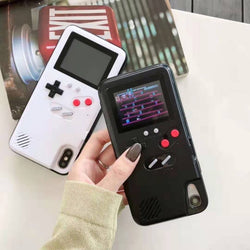Gameboy Phone Case - silicone game cover For iPhone - SD-style-shop