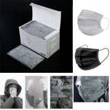 50pcs disposable mouth masks - activated carbon four layer Bacterial Filter - SD-style-shop