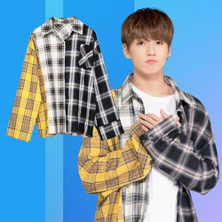 BTS 3 color Plaid Shirt - SD-style-shop