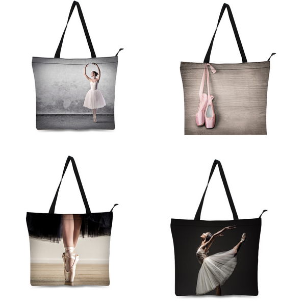 Ballet bag canvas. Tote dance Bag - SD-style-shop