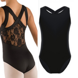 Girls Ballet Leotard with lace - SD-style-shop