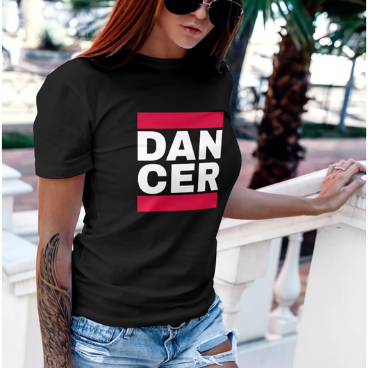 Dancer Short-Sleeve Unisex hiphop style tshirt - SD-style-shop