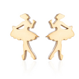 Ballet Earrings - SD-style-shop