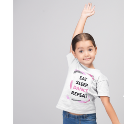 Eat Sleep Dance Repeat Kids Softstyle Tee - SD-style-shop