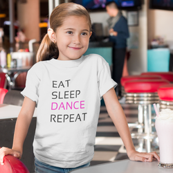 Eat Sleep Dance Repeat Youth T-Shirt - SD-style-shop
