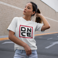 Dance T-shirt with DNCE print, Short-Sleeve hiphop dance T-Shirt - SD-style-shop
