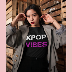 Kpop vibes T-shirt, K-POP T-shirt with print. Short-Sleeve Unisex T-Shirt - SD-style-shop