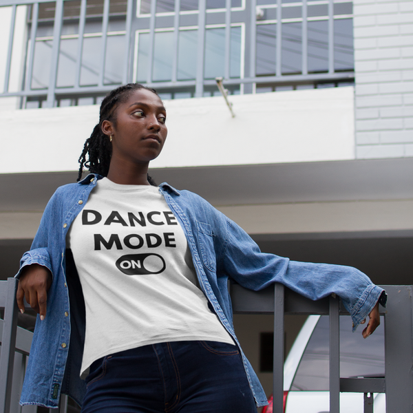 Dance T-shirt, dance mode on shirt, short-Sleeve Unisex dance T-Shirt - SD-style-shop